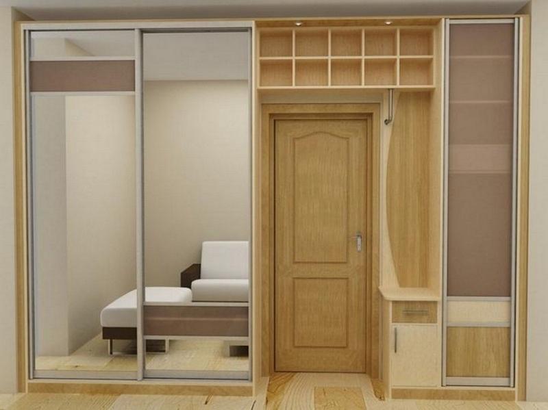 Много квартир старой постройки, имеют довольно маленькие (узкие) прихожие, и сделать встроенный шкаф купе в такую