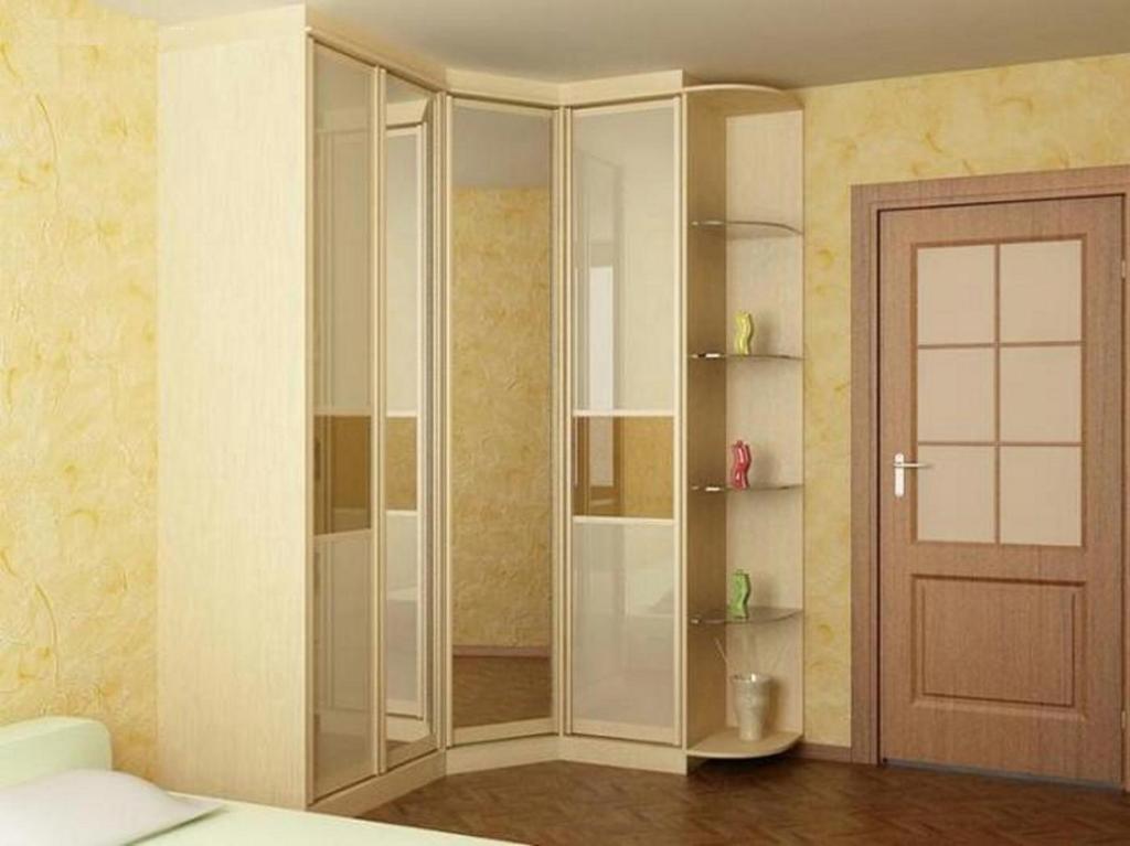 Дизайн углового шкафа купе фото для прихожей